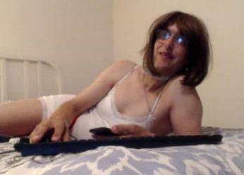 Crossdresser webcam