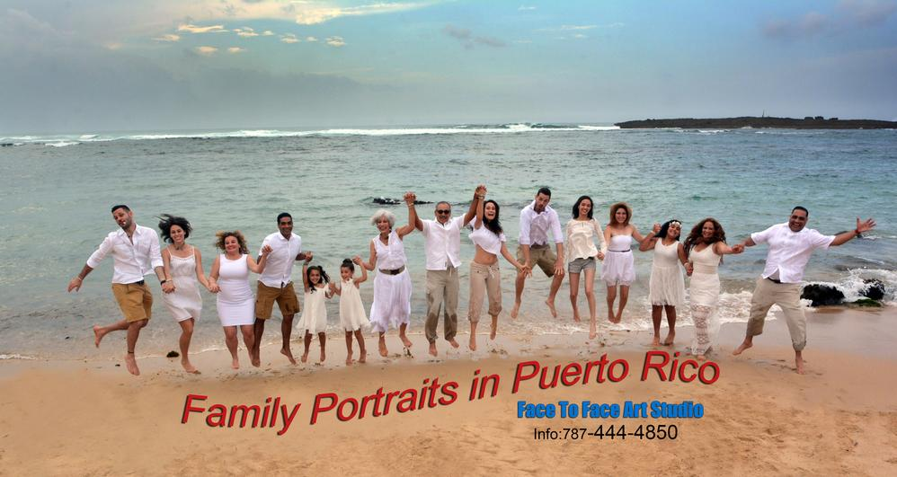 Prices for Family PhotoShoot in Puerto Rico