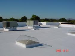 Commercial and residential Flat roof TPO