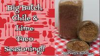 Chile & Lime Taco Seasoning Thumbnail, Noreen's Kitchen