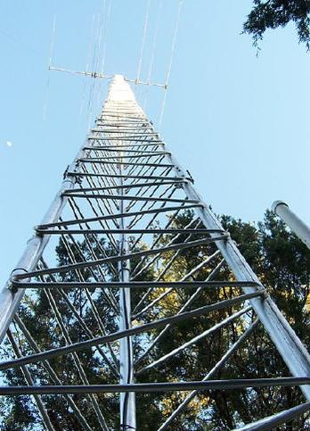 Aluminum Self Supporting Towers Heights Tower Systems Inc