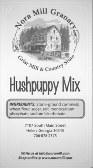 Nora Mill Hushpuppy Mix Recipe