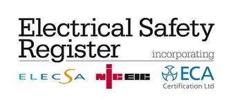 Electrical Safety Register logos