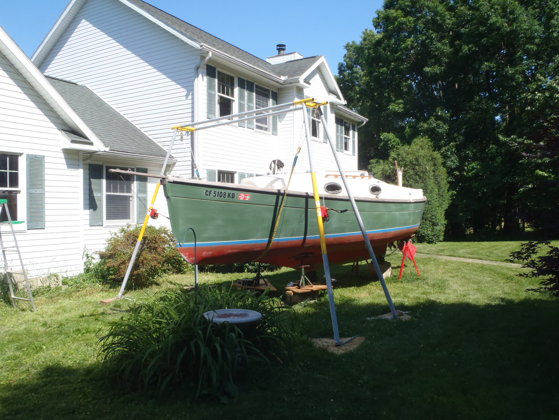 Portable Boat Hoist Lift