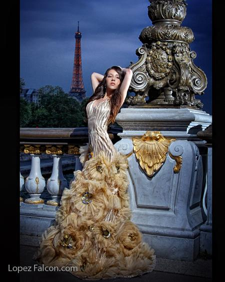 SWEET 15 QUINCEANERA PHOTOSHOOT IN PARIS BY LOPEZ FALCON