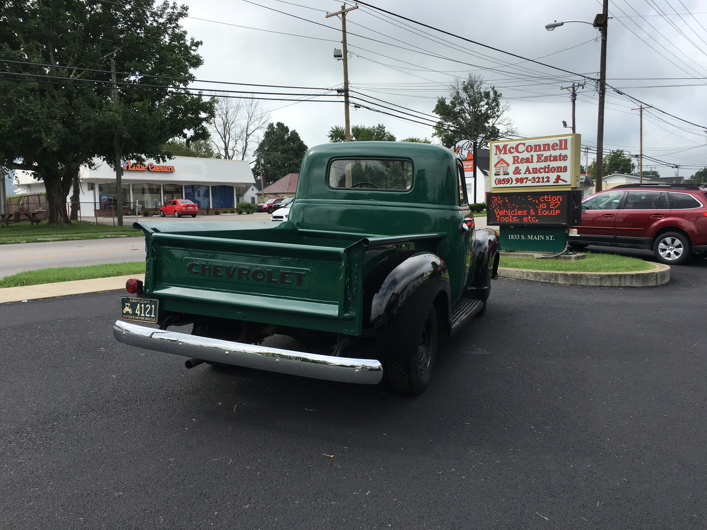 Absolute Auction August 27th 2016 Trucks Vehicles Suvs 1949 Chevy Step Van Long Rifle Percussion Cup W 1 2 Curly Maple Stock Semi Homemade From 1970s Kit Patch Box Octagonal Barrel