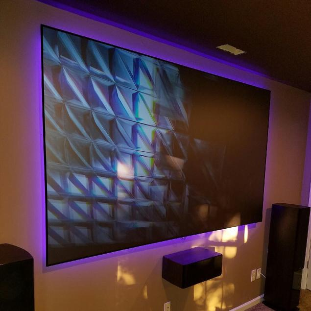 Charlotte home theater installation service, Carolina custom Mounts, speaker installations and custom home theater design
