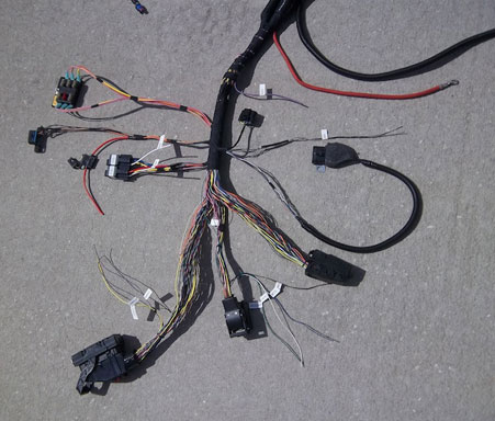lbz wiring harness 300w led wiring harness in 3m length relay switch button motorcycle wiring harness