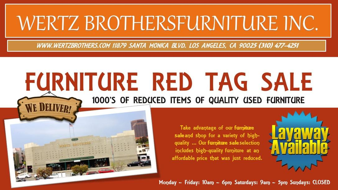 Used Furniture In Los Angeles Ca Wertz Brothers Furniture