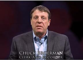 Clerk Chuck Broerman Video