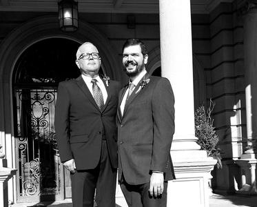 Same Sex wedding at the Semple Mansion in Minneapolis