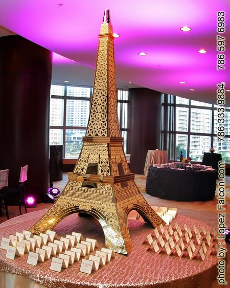 Quinces A Real Night In Paris France Quinceanera Party Paris Themed