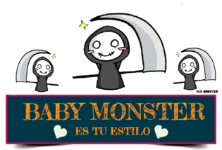 Body Manga Corta Para Niño A Estampado Baby Monster Muñeco De Nieve ... bcaa8de58b8