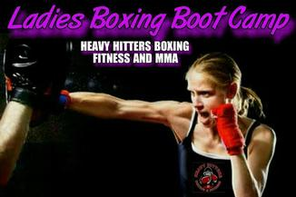 LADIES BOXING BOOT CAMP