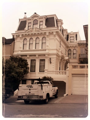 San Francisco, house painter, painting contractor