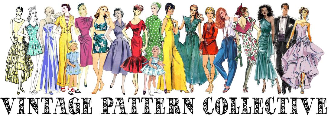 Vintage Pattern Collective - Vintage Sewing Patterns