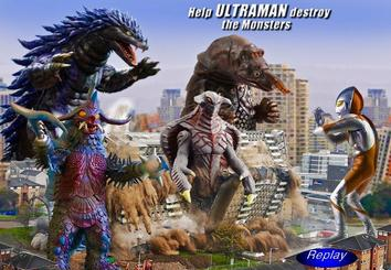 Play the FLASH Ultraman Monster Game