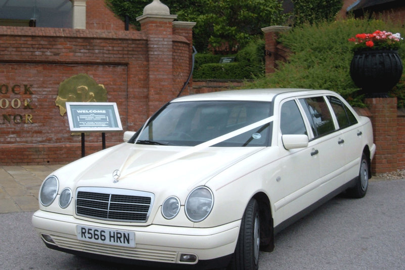 Mercedes 6 door Limousine Wedding car Essex hire from Essex Wedding Cars