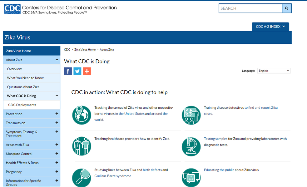 What CDC is Doing About the Zika Virus