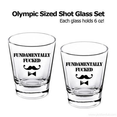 Olympic Sized Shot Glass Set