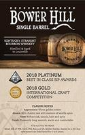 Single Barrel Box Card