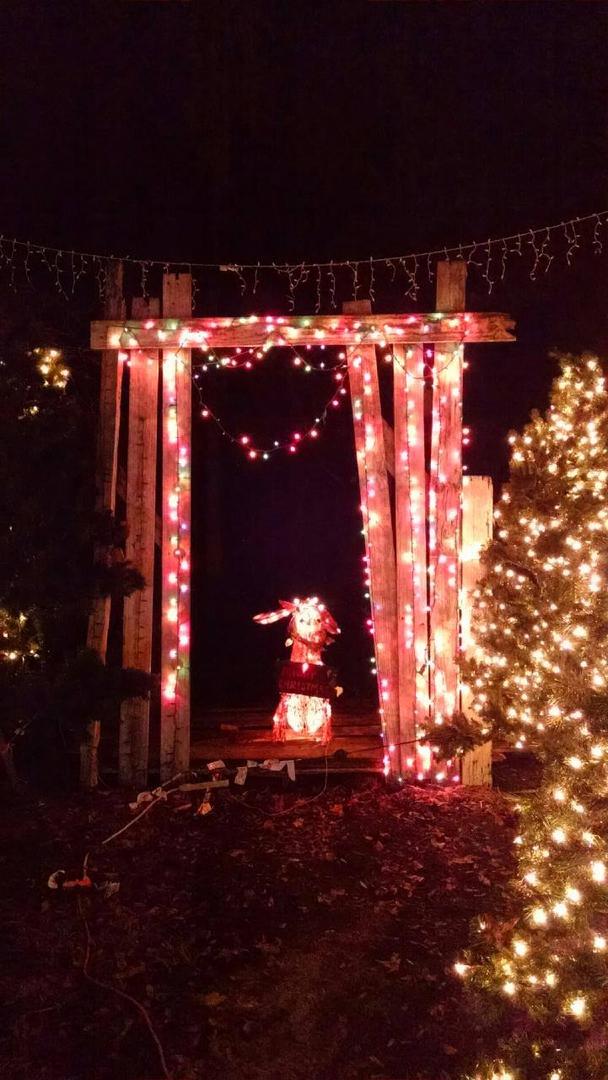 Country Christmas Hayride   Cowboy Santa Claus - Smith Family Ranch ...