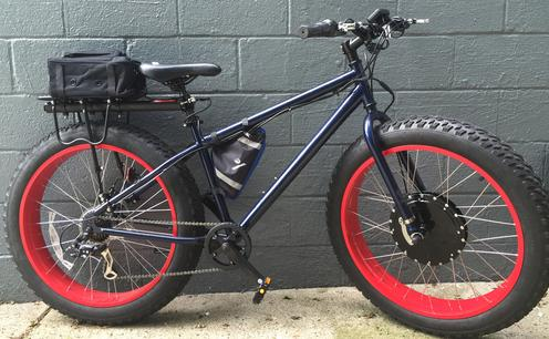EFB Electric Fat Tire Bike