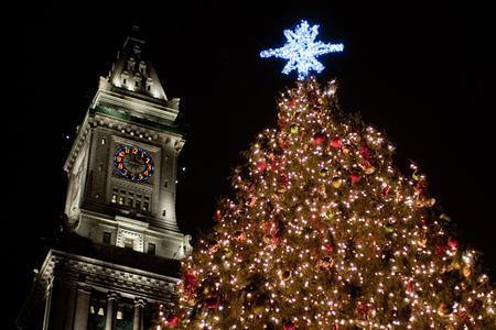 the 2012 lighting of the boston christmas tree httpcdn1bostonmagazinecomwp contentuploads201311boston christmas treejpg