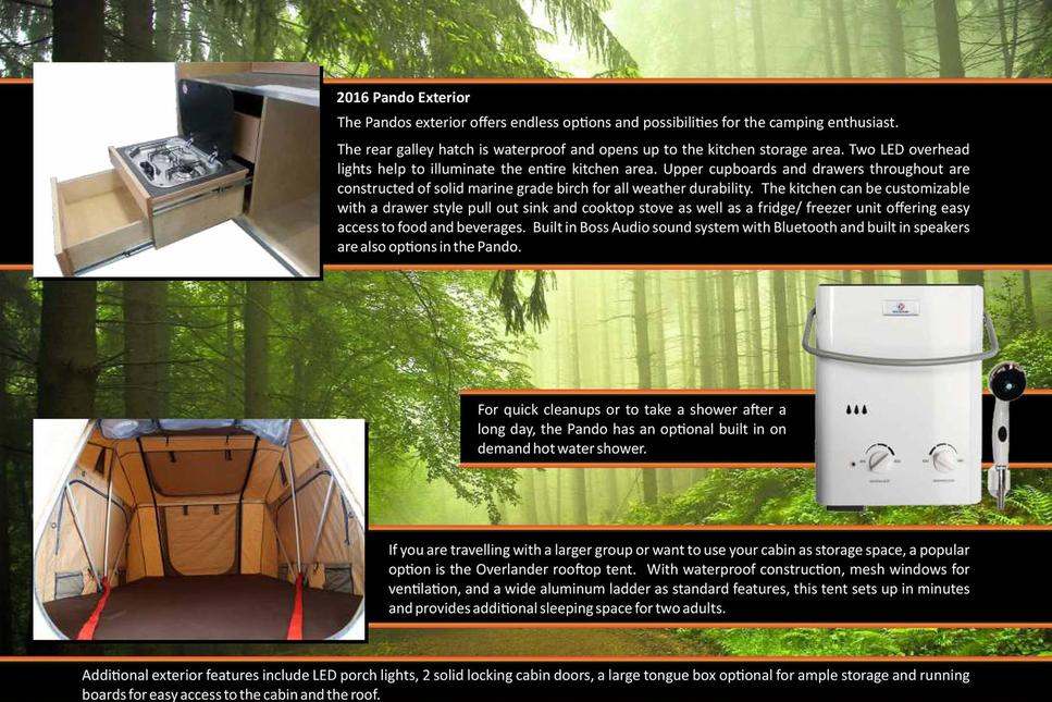 Off Grid Trailers Expedition Campers Have An Interior Thats Warm Comforting And Built To Last Storage Solutions Are Custom Your Requirements