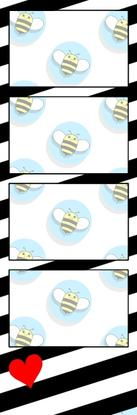 Bumblebee Booths Photo Strip sample #15