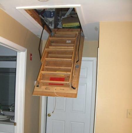 Attic Door Installer Lincoln Attic Ladder Installation Replacement on