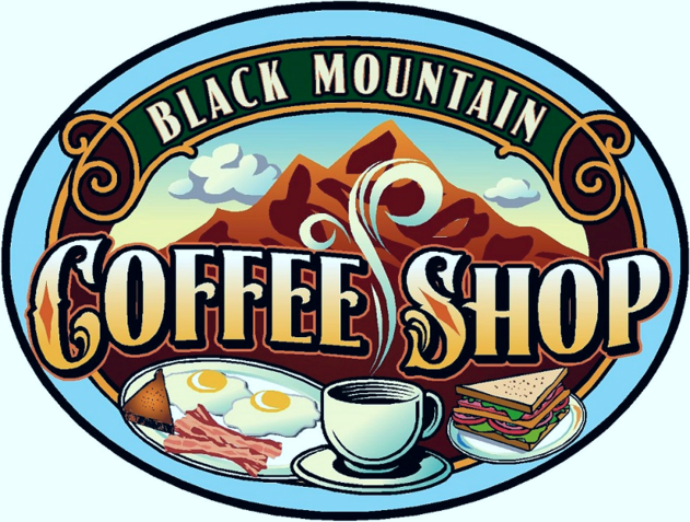Black Mountain Coffee Shop Logo
