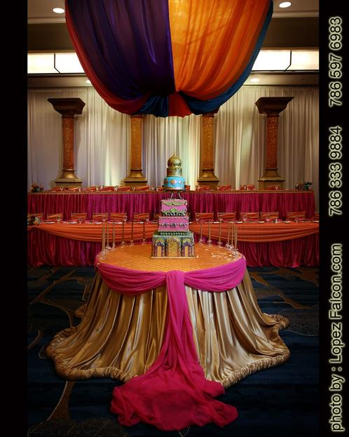 Indian Quinceanera Party Bollywood India Theme Sweet 15