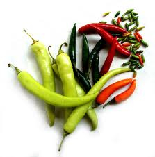 Chillies from Chile