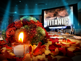 Titanic quinceanera party theme quinces parties miami titanic themed photography video dresses