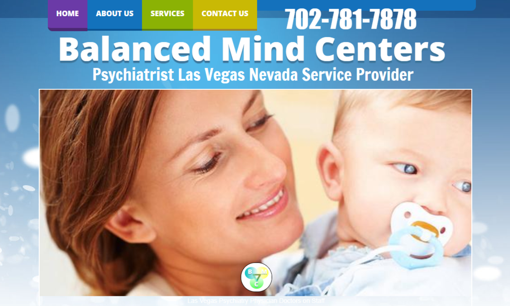 Psychiatrist Las Vegas services by Balanced Mind Ceneters