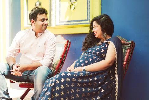 maternity photoshoot india by dreamwork photography
