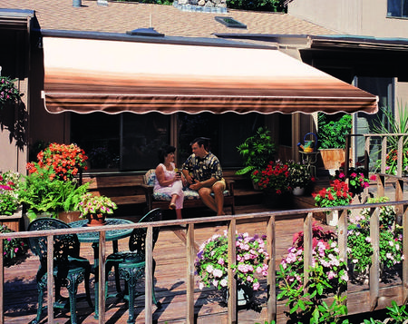 SunSetter Awnings for your patio or storfront