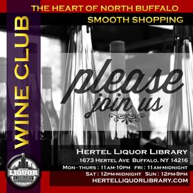 Holiday shopping for wines & liquor at Hertel Liquor Library. Join our wine club