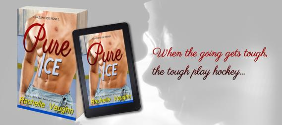 pure ice rachelle vaughn steamy sports hockey romance alpha male brother book