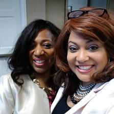 Dr. Angela Chester and Juanita Farrow