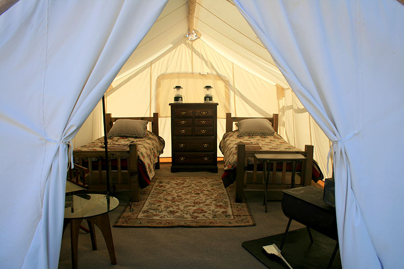 1 OR 2 PERSON SAFARI TENTS