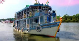 Air Conditioned House Boat For Sundarbans