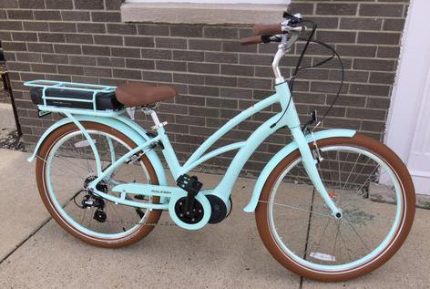 Raleigh Retroglide Electric Bicycle