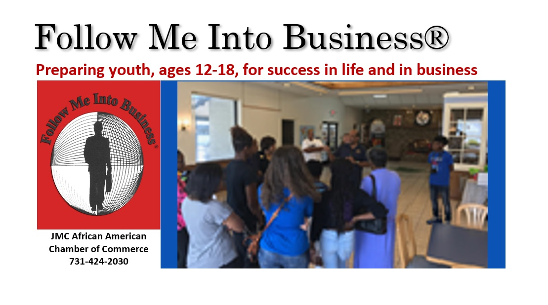 Follow Me Into Business | JMCAACC