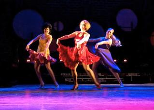 Haley dancing as Helene in Sweet Charity