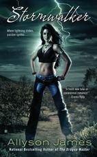 Stormwalker Allyson James paranormal romance book
