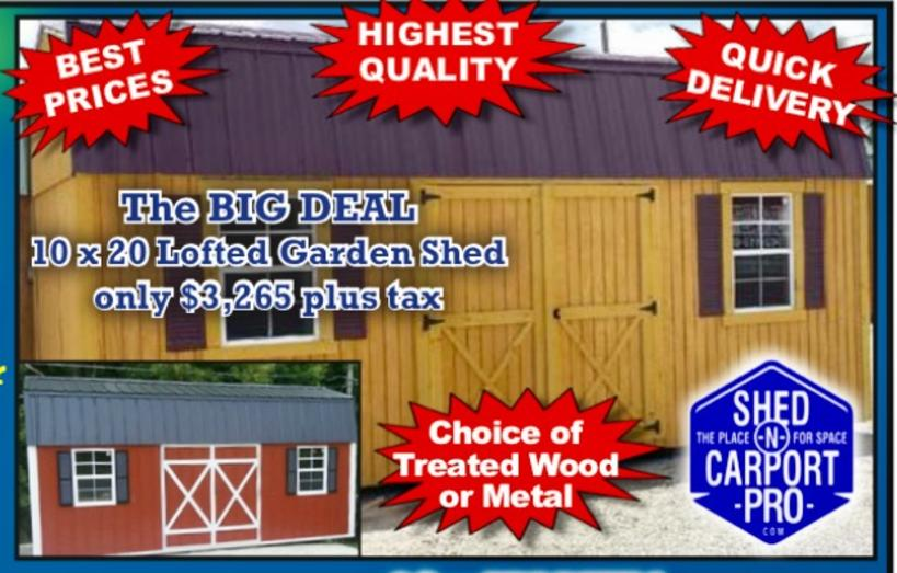 free local delivery set up - Garden Sheds Quick Delivery