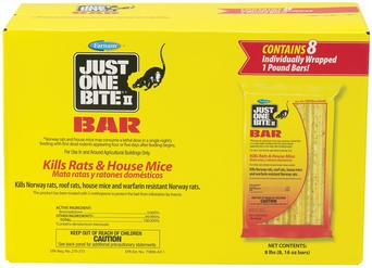 Just One Bite II Rodent Control Bar 8 pack