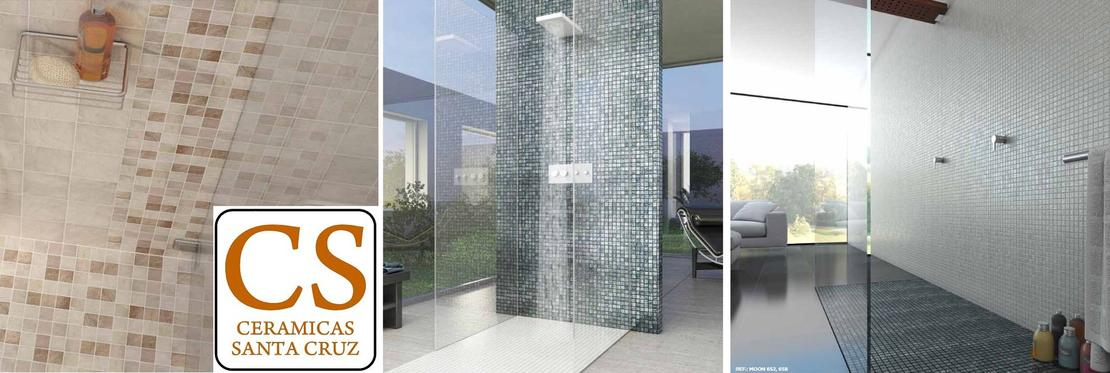 Platos de ducha de obra con baldosas y azulejos de gres - Azulejos para duchas de obra ...